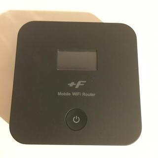 フジツウ(富士通)の富士ソフト WiFiルーター FS020W(その他)