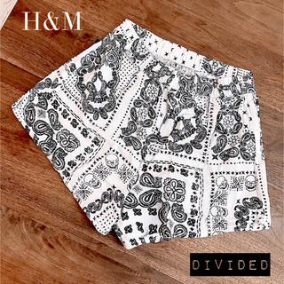 H&M - ◆H&M◆おしゃれなルームウエア 32 (XS) ショートパンツ