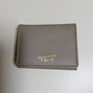 ドゥーズィエムクラス(DEUXIEME CLASSE)のDeuxieme Classe 折りたたみ財布(財布)