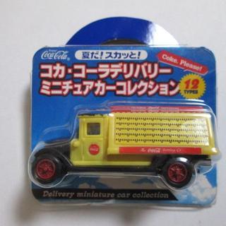 コカコーラ(コカ・コーラ)の■ 『 ミニチュアカーコレクション FORD Model AA Truck 』(ノベルティグッズ)