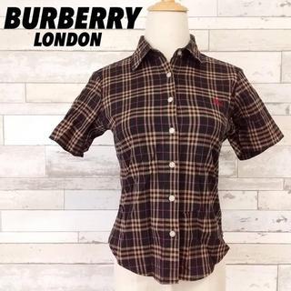 バーバリー(BURBERRY)のBURBERRY LONDON バーバリー ロンドン チェック柄 半袖シャツ (シャツ/ブラウス(半袖/袖なし))