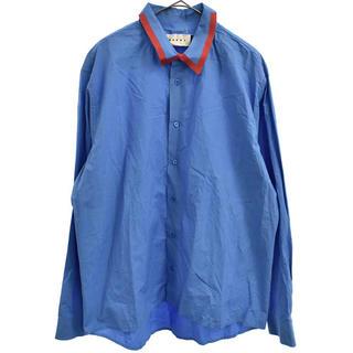マルニ(Marni)のMARNI 襟テープシャツ(シャツ)