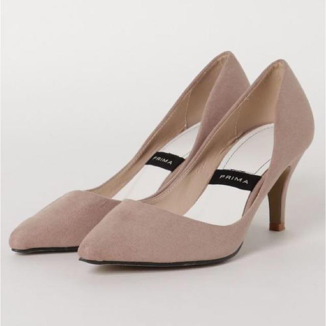 PLAIN CLOTHING(プレーンクロージング)のPLAIN CLOTHING ベージュパンプス 22.5 BAILA STORY レディースの靴/シューズ(ハイヒール/パンプス)の商品写真