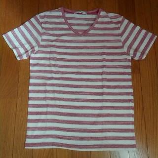 スピンズ(SPINNS)のボーダー Tシャツ メンズ (スピンズ)(Tシャツ/カットソー(半袖/袖なし))