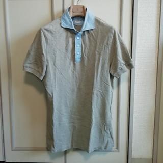 ブルネロクチネリ(BRUNELLO CUCINELLI)の美品 ブルネロクチネリ メンズシャツ 半袖(シャツ)