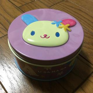 サンリオ(サンリオ)のサンリオ ウサハナ お菓子缶(容器)