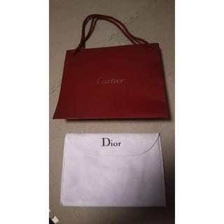 カルティエ(Cartier)のカルティエ ディオール ショップバッグ ケース(ショップ袋)