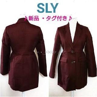 スライ(SLY)のWAIST MARKジャケット♡SLY スライ 新品 タグ付き(テーラードジャケット)