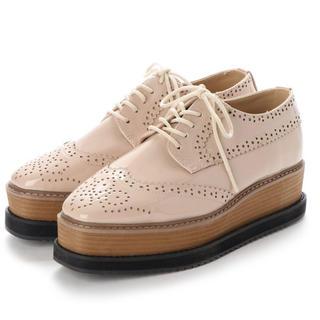 【新品】アルシーヴ archives ウィングチップレースアップシューズ (ローファー/革靴)