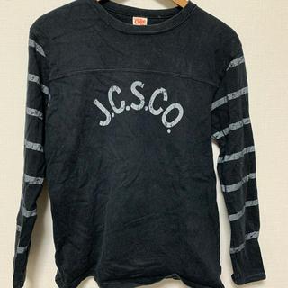 キャリー(CALEE)のcalee ロンT フットボール  mサイズ(Tシャツ/カットソー(七分/長袖))
