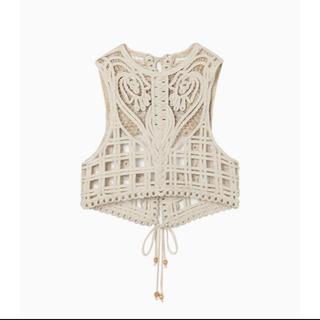 マメ(mame)のCording Embroidery Vest  2020aw(ベスト)