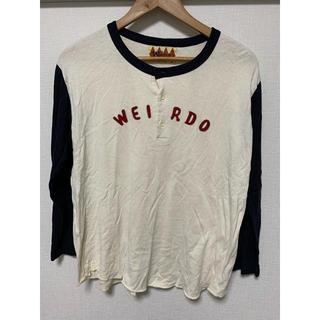 キャリー(CALEE)のweirdo ロンT 七分袖 sサイズ(Tシャツ/カットソー(七分/長袖))