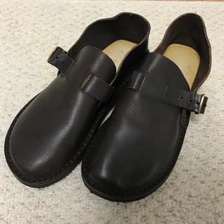 イルビゾンテ(IL BISONTE)のイルビゾンテ レザー シューズ 37(ローファー/革靴)
