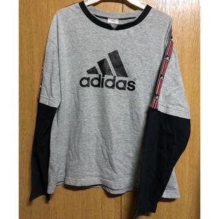 アディダス(adidas)のkids adidas長ソデTシャツ160cm (Tシャツ/カットソー)
