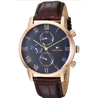 トミーヒルフィガー(TOMMY HILFIGER)のトミーヒルフィガー腕時計 カジュアルウォッチ ブラウン/ブルー新品 並行輸入品 (腕時計(アナログ))