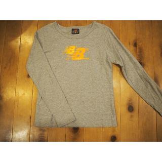 ニューバランス(New Balance)のキッズ150 ニューバランス 長T(グレー)(Tシャツ/カットソー)