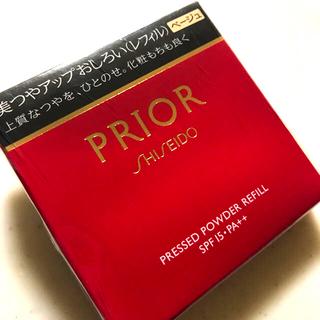 プリオール(PRIOR)のプリオール 美つやアップおしろい ベージュ(レフィル) 9.5g(フェイスパウダー)
