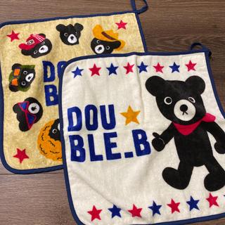 ダブルビー(DOUBLE.B)のループ付きタオル ハンカチ タオル(その他)