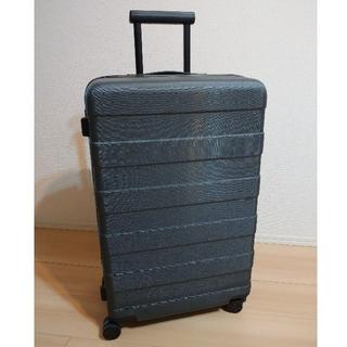 ムジルシリョウヒン(MUJI (無印良品))の【早い者勝ち】ハードキャリーケース ダークグレー 無印良品 63L (スーツケース/キャリーバッグ)