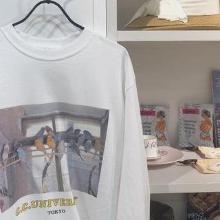 エディットフォールル(EDIT.FOR LULU)のCharlesChaton♡ロングTシャツ こまたろう様専用(Tシャツ(長袖/七分))