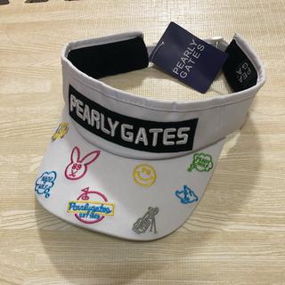 パーリーゲイツ(PEARLY GATES)のパーリーゲイツ サンバイザー(キャップ)