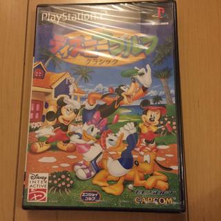 ディズニー(Disney)のps2 ディズニーゴルフ クラシック 新品未開封(家庭用ゲームソフト)