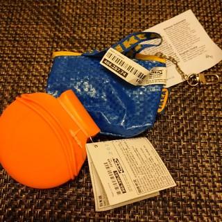 イケア(IKEA)のIKEA シリコン耐熱鍋つかみ+キーホルダー イケア(調理道具/製菓道具)