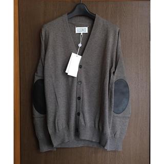 マルタンマルジェラ(Maison Martin Margiela)のS新品 メゾン マルジェラ エルボーパッチ ニット カーディガン セーター 16(ニット/セーター)
