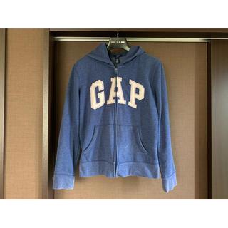 ギャップキッズ(GAP Kids)の160cm GAP Kids ロゴパーカー 杢ブルー(その他)