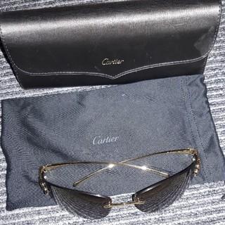カルティエ(Cartier)のカルティエ パンサーサングラス パンテール ゴールド(サングラス/メガネ)