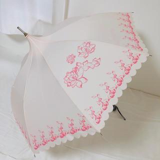 ワコール(Wacoal)のサルート ノベルティ 晴雨兼用 パゴダ傘 折りたたみ傘 64G プレステージ(傘)