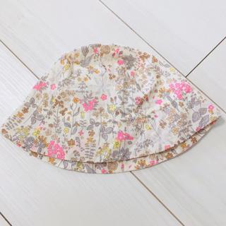 ボンポワン(Bonpoint)のボンポワン  フィールドフラワーズ 帽子(帽子)
