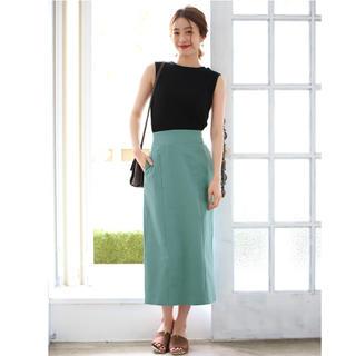 ラクテン(Rakuten)の美品ポケット付きタイトスカート(ロングスカート)