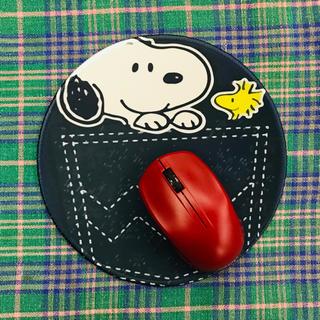 スヌーピー(SNOOPY)の〜*スヌーピー SNOOPY マウスパッド *〜(PC周辺機器)