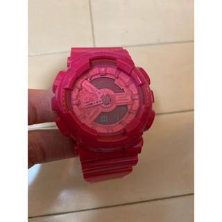 ジーショック(G-SHOCK)のG-SHOCKハイパーカラーズGA-110Bピンク(腕時計(デジタル))