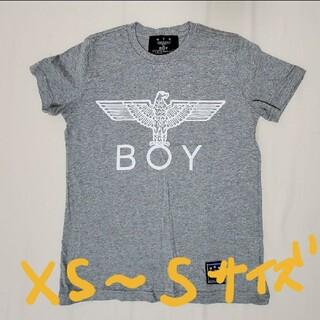 ボーイロンドン(Boy London)のBOY LONDON Tシャツ グレー XS(Tシャツ(半袖/袖なし))
