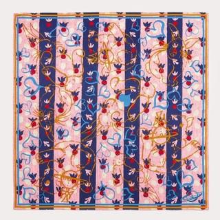 ヴィヴィアンウエストウッド(Vivienne Westwood)の新品🌟送料無料❤ハート🐰バニー🐰ハンカチBL★ヴィヴィアンウエストウッド★(ハンカチ)