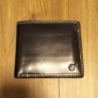 ホワイトハウスコックス(WHITEHOUSE COX)のブリティッシュグリーン 折り畳み財布(折り財布)