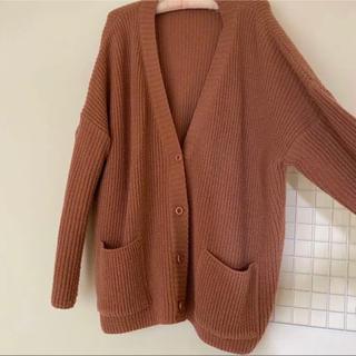 ゴゴシング(GOGOSING)のニットガーディガン 韓国ファッション(ニット/セーター)