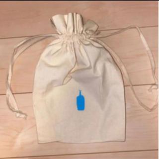 ディーンアンドデルーカ(DEAN & DELUCA)のブルーボトル 巾着ポーチ ☆新品☆ バッグインバッグ ♡オシャレ(ポーチ)