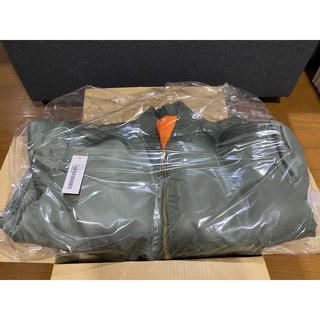 シュプリーム(Supreme)のSmall 20aw 20fw Globe MA-1 supreme olive(フライトジャケット)