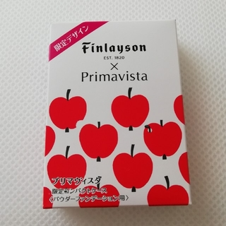 プリマヴィスタ(Primavista)のプリマヴィスタ ファンデーションケース 限定 りんご柄(ボトル・ケース・携帯小物)