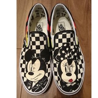 ヴァンズ(VANS)のバンズ ディズニー ミッキー ミニー Disney Mickeyスリッポン(スニーカー)