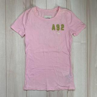 アバクロンビーアンドフィッチ(Abercrombie&Fitch)のアバクロ Tシャツ ピンク(Tシャツ(半袖/袖なし))