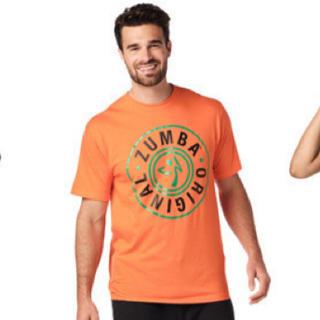 ズンバ(Zumba)のzumba Tシャツ オレンジ ハロウィン ズンバウェア ラスト1枚(Tシャツ/カットソー(半袖/袖なし))