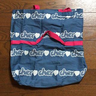 シェル(Cher)のcher ロゴ入りビッグトート(トートバッグ)