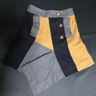 ヴィヴィアンウエストウッド(Vivienne Westwood)のヴィヴィアン ウエストウッド 変形スカート(ひざ丈スカート)
