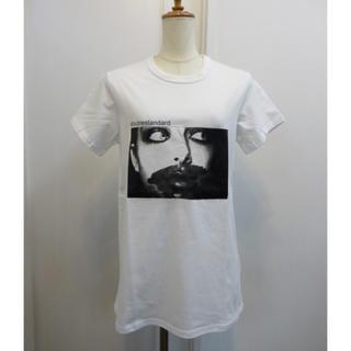 ダブルスタンダードクロージング(DOUBLE STANDARD CLOTHING)のダブルスタンダード プリントTシャツ(Tシャツ(半袖/袖なし))
