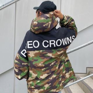ロデオクラウンズワイドボウル(RODEO CROWNS WIDE BOWL)の新品 迷彩(男女兼用)早い者勝ちノーコメント即決推奨❗️でも同梱で値引き交渉OK(ナイロンジャケット)