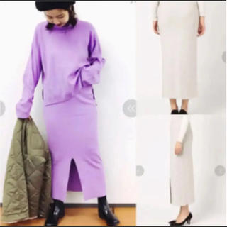 カプリシューレマージュ(CAPRICIEUX LE'MAGE)のCAPRICIEUX LE'MAGE/¥10584 ニットロングスカート(ロングスカート)